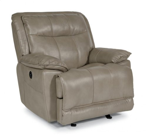 Bliss Fabric Power Gliding Recliner