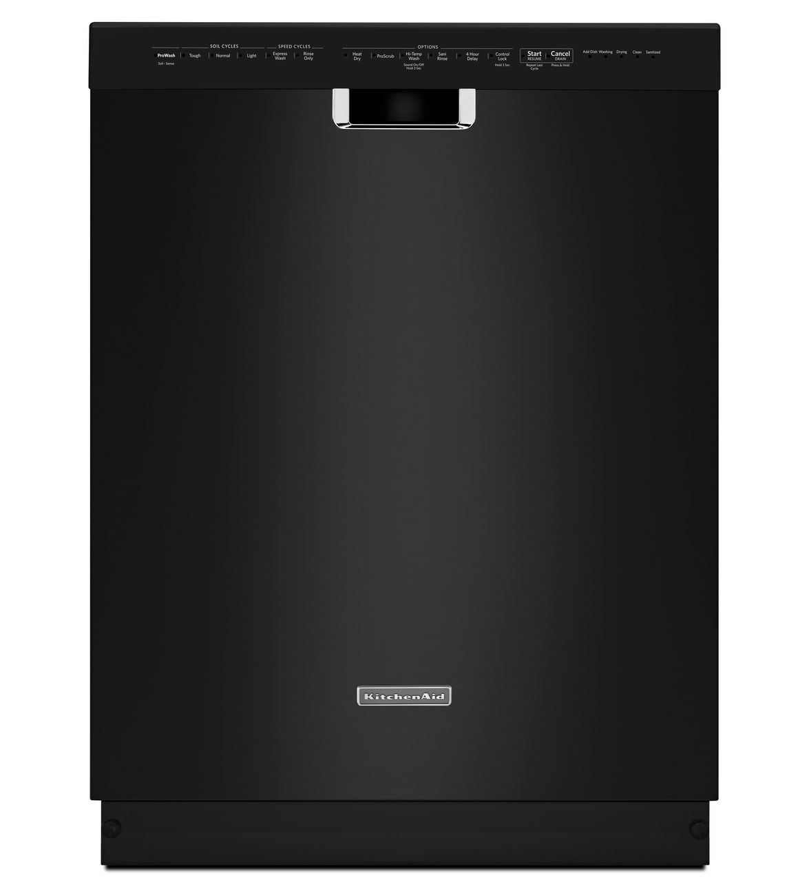 Kitchenaid Whisper Quiet Dishwasher: KDFE304DBL Kitchenaid