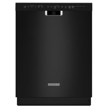 24'' 6-Cycle/6-Option Dishwasher, Pocket Handle - Black