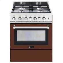 "Burgundy 30"" Gas Range"