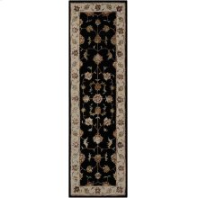 Serenade Srd01 Black Runner 2'3'' X 7'6''