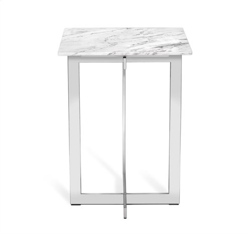 Riley Square Marble Side Table