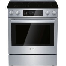 Electric Slide-in Range 30'' Stainless steel