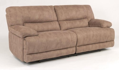 Delia Fabric Power Reclining Sofa