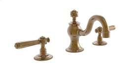 Widespread Faucet Lever Handles - Polished Gold