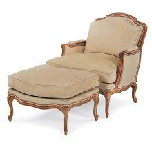 Desmond Chair and Ottoman