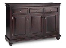 Florentino Sideboard w/3 Wood Doors & 3/Dwrs & 3/Wood Adjust.