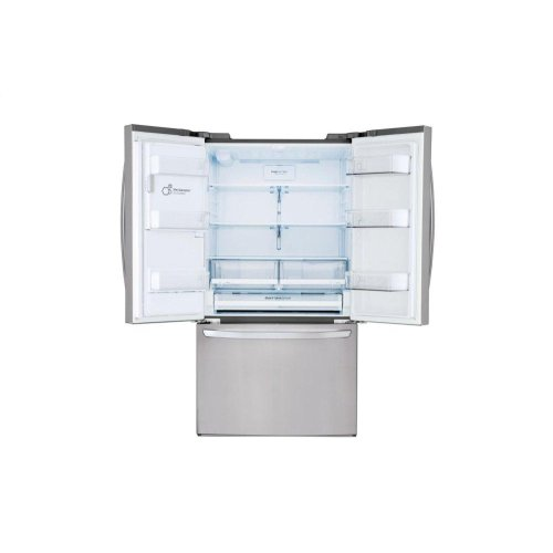 22 cu. ft. Smart wi-fi Enabled French Door Counter-Depth Refrigerator