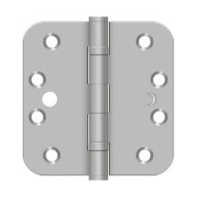 "4"" x 4""x 5/8"" Radius Hinge, 2BB, Security"