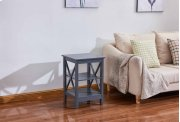 6606 Gray End Table Product Image