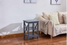 6606 Gray End Table