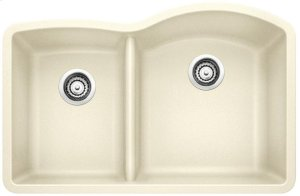 Blanco Diamond 1-3/4 Bowl Reverse With Low-divide - Biscuit