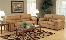 Frisco Cognac Loveseat