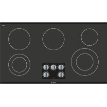 "500 Series, 36"" KNOB CNT, 5 ELEMENT, ELEC. C-TOP BLACK"