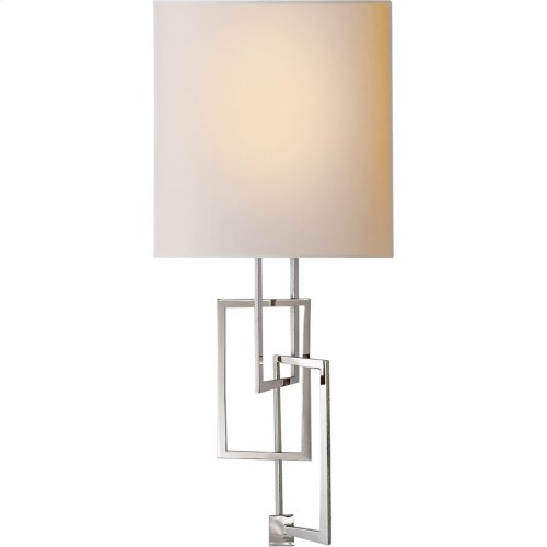 Visual Comfort S2090PN-NP Studio Cooper 1 Light 9 inch Polished Nickel Decorative Wall Light