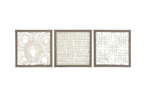 Wall Decor Set (3/CN)