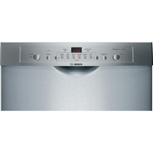 """24"""" Recessed Handle Dishwasher Ascenta- Stainless steel (Scratch & Dent)"""