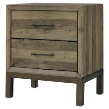 Bianco Night Stand/Side Table, Rustic Tuscan