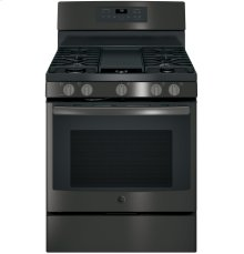 """GE® 30"""" Free-Standing Gas Convection Range"""