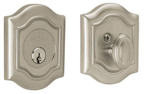 Satin Nickel with Lifetime Finish Bethpage Deadbolt