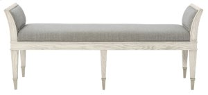 Domaine Blanc Bench in Dove White (374)