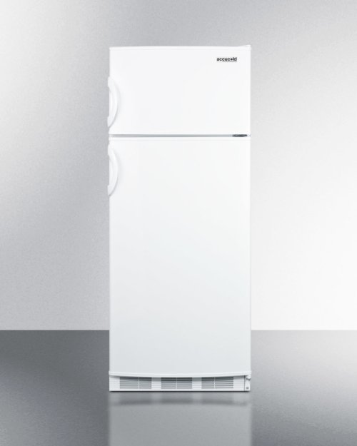 "Two-door Refrigerator-freezer With Cycle Defrost and Slim 24"" Width"