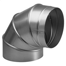 "6"" Round Elbow Duct for Range Hoods and Bath Ventilation Fans"