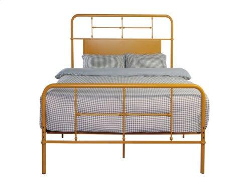 Emerald Home Fairfield Metal Bed Butterscotch B202-12hbfbrbrn