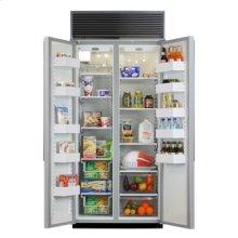 """36"""" Side-by-Side Refrigerator/Freezer (Marvel) - 36"""" Marvel Side-by-Side Refrigerator/Freezer"""