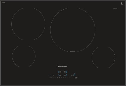 30-Inch Masterpiece® Induction Cooktop, Black, Frameless