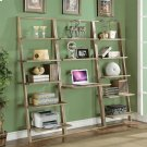 Lean Living - Leaning Bookcase - Smoky Driftwood Finish Product Image