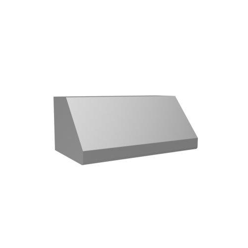 "48"" 600 CFM Standard Wall Mount Range Hood Stainless Steel"