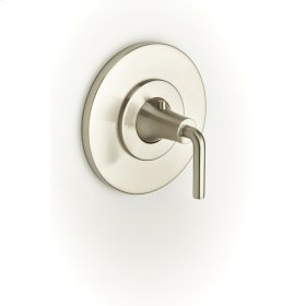 Thermostatic Valve Trim River (series 17) Satin Nickel