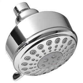 Modern 5-Function Shower Head - Brushed Nickel