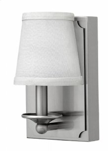 Brushed Nickel Avenue Interior Wall Mount
