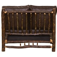 Loveseat - Natural Hickory - Standard Fabric