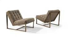 B Armless Lounge Chair