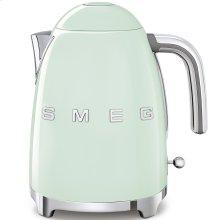 Smeg 50s Retro Style Design Aesthetic Electric Kettle, Pastel Green