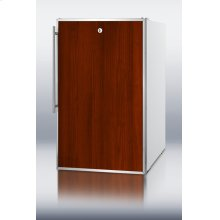 """20"""" Wide Counter Height All-freezer, -20 C Capable With A Lock and Stainless Steel Door Frame for Slide-in Custom Panels"""