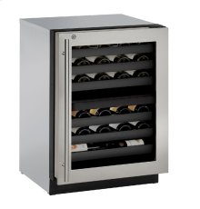 """Modular 3000 Series 24"""" Wine Captain® Model With Stainless Frame (lock) Finish and Right-hand Hinged Door Swing (115 Volts / 60 Hz)"""