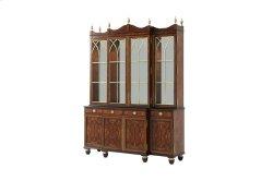 Grand Designs Bookcase / Cabinet - Brass Astragals & Mirror