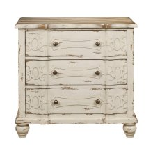 Ornate Overlay Drawer Chest