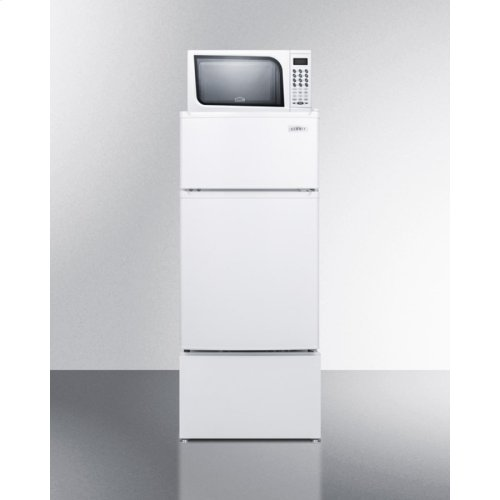 Pedestal To Raise Height of Select Refrigerator-freezers for Easier Accessibility