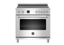 "36"" Master Series range - Electric self clean oven - 5 induction zones"