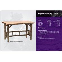 Hickory Open Writing Desk