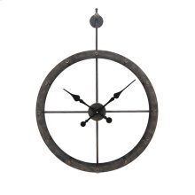 Numberless Hanging Metal Clock, Wb