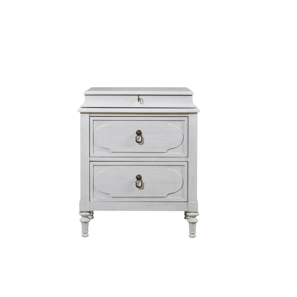Cancale Bedside Chest - Linen