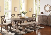 Tuscany Park Dining Table Top W/leaf
