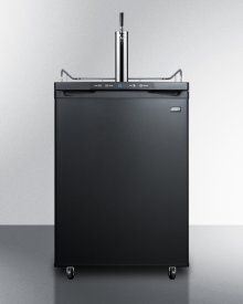 Commercially Listed Cold Brew Coffee Dispenser In Black, With A Complete Stainless Steel Tap Kit and Nitrogen Tank Included