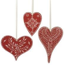 Heart Ornament (3 asstd).